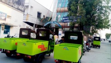 Photo of NMC New Garbage Collection vans plying in the city with no RTO Nod