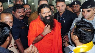 Photo of Yoga Guru Baba Ramdev in City
