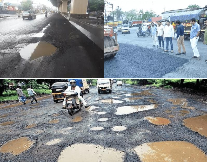 Nagpur Potholes