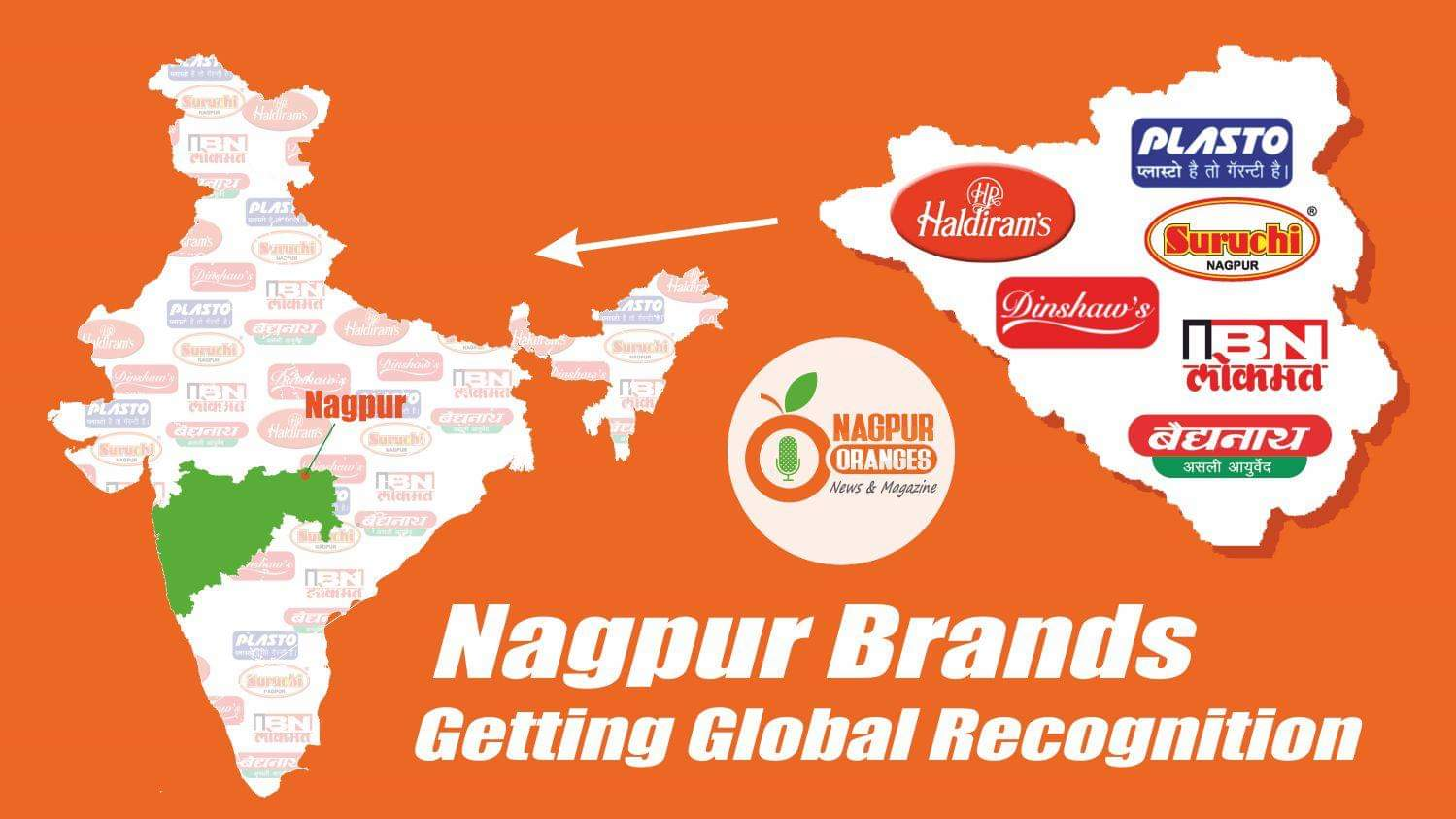 Photo of Nagpur Brands Getting Global Recognition
