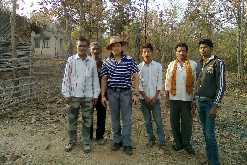 Sachin Tendulkar at Tadoba