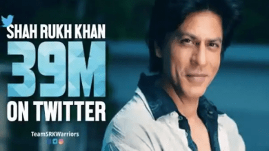 Photo of SRK Earns 39 Million Followers on Twitter