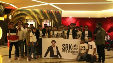 Photo of SRK Fans Nagpur's 3rd Screening Mohabbatein at PVR Got an Overwhelming response